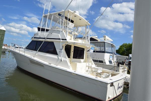 Viking 45 Convertible 1990 Viking 45 Conv, port side