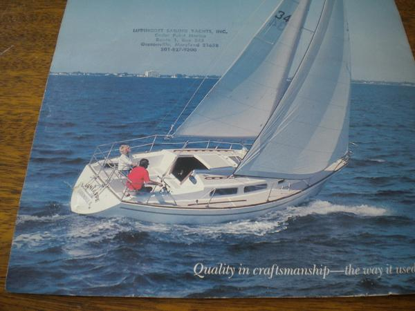 Lippincott 30 Sail Brochure Photo