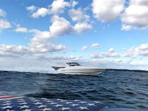 Riviera 470M-Wellcraft   Excalibur with Arneson Surface Drives No Boundries
