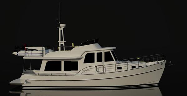 Eagle 41 Pilothouse Trawler