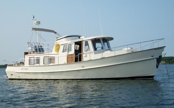 Eagle 40 Pilothouse Trawler Manufacturer Provided Image