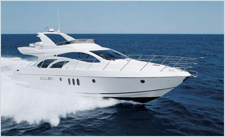 Azimut 55: Brochure Running Shot