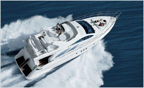 Azimut 55: Brochure Running Shot II
