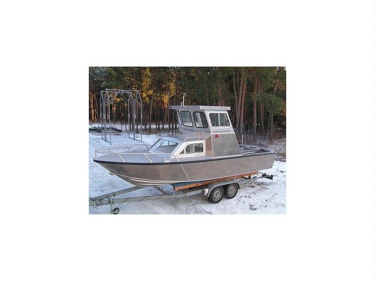 Alu-Kajutboot Karelli 22-F