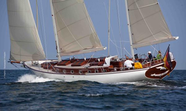 Yachtwerft Martin Tioga 18 m Ketch Tioga Ketch Yacht For Sale Brokerage