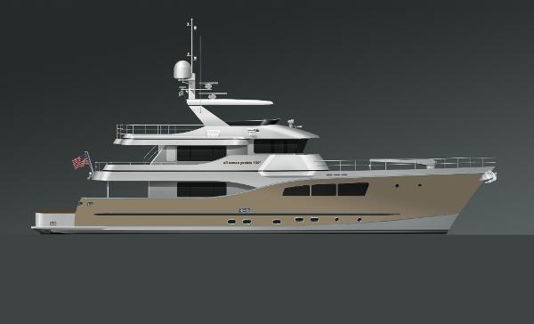 All Ocean Yachts Tri-Deck Explorer Yacht