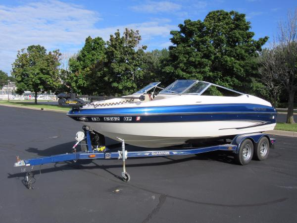 Glastron GX 205 Ski & Fish PROFILE, TRAILER INCLUDED