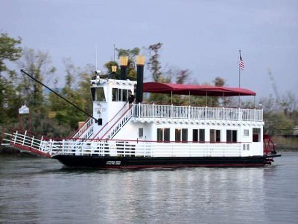 Steel Skipperliner Double Deck Paddle Wheeler COI for 120 persons