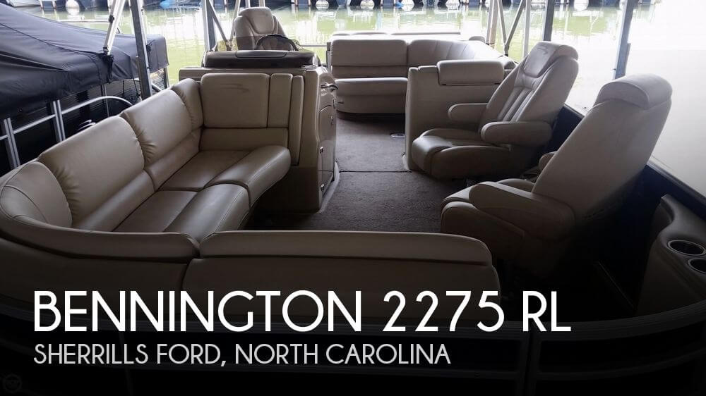 Bennington 2275 RL 2012 Bennington 2275 RL for sale in Mooresville, NC