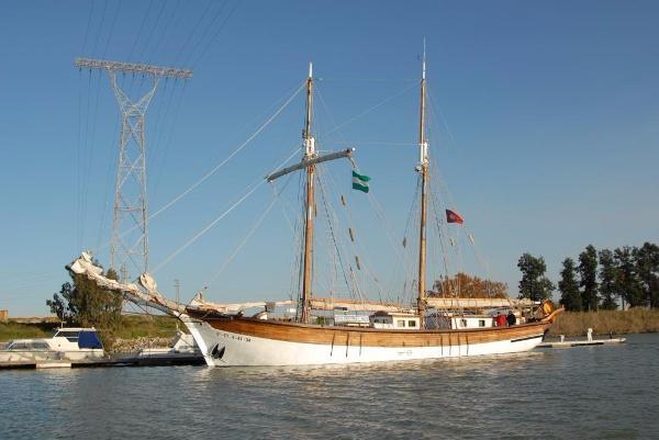 SPANISH SCHOONER 2 MASTS - 1856 Spanish Schooner 2 masts - 1856