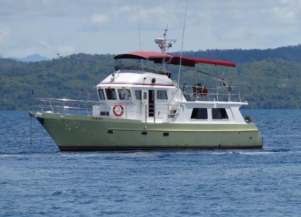 Seahorse 52 At anchor