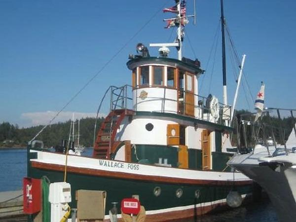 Tacoma Shipyard Tugboat