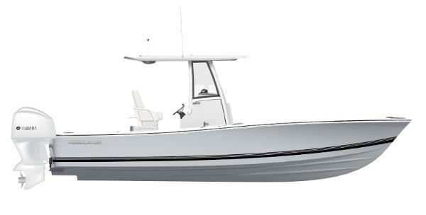 Regulator 26XO 2020 Regulator 26XO Stock Boat Color Scheme Rendering