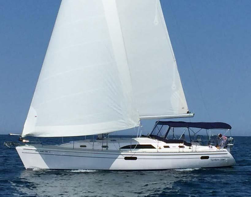 Catalina 445 Sailing 2