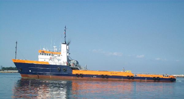 Anchor Handling Towing Tug Supply Vessel 65m Anchor Handling Towing Tug Supply Vessel AHTS - DWT 1176 For Sale