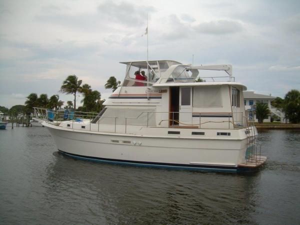 Gulfstar 44 Motor Yacht Main Profile