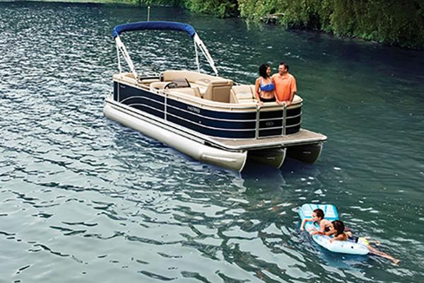 Harris Cruiser 240 CWDH - TRITOON Manufacturer Provided Image