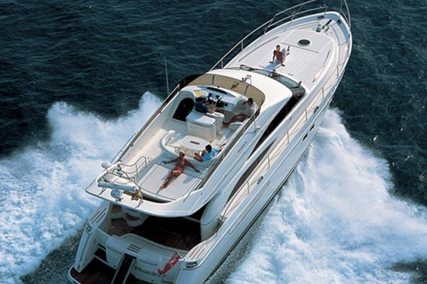 Princess 61 Manufacturer Provided Image: Exterior View 1