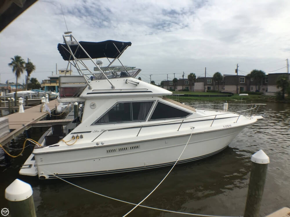Sea Ray 340 Sedan Bridge 1989 Sea Ray 340 Sedan Bridge for sale in Cocoa Beach, FL