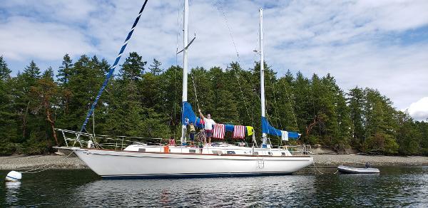 Gulfstar sailing vessel
