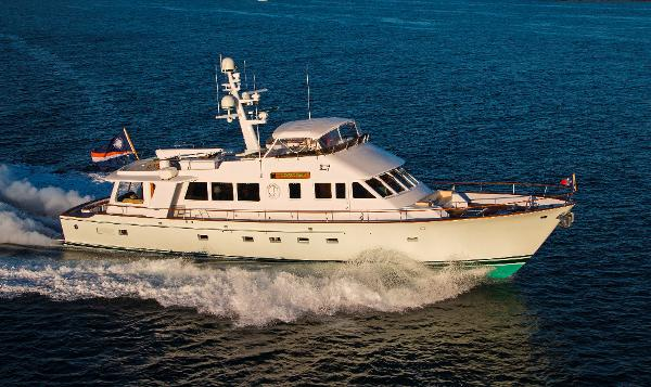 Lyman Morse Motor Yacht TUMBLEHOME