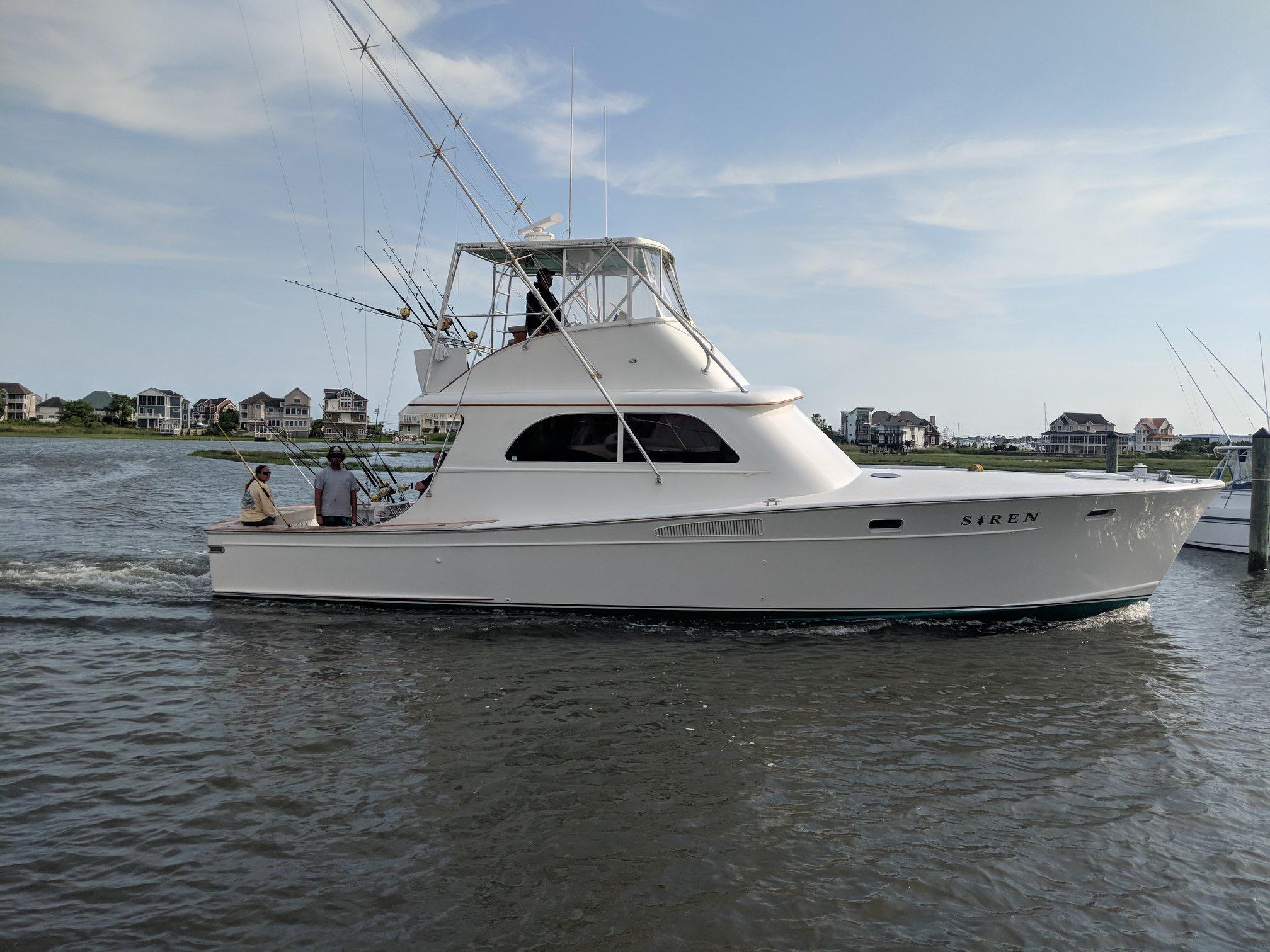 Graves Yachts Custom Sportfish 46