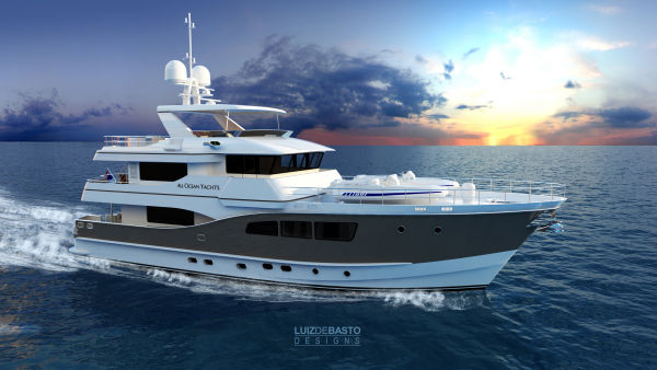 All Ocean Yachts Tri Deck Explorer Yacht Photo 1