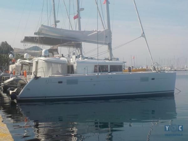 Lagoon 450 01-Logoon 450 2015 BC Marin 1