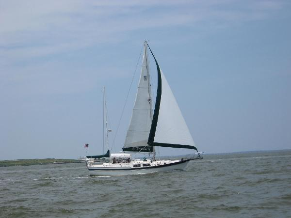 Irwin Ketch Under sail