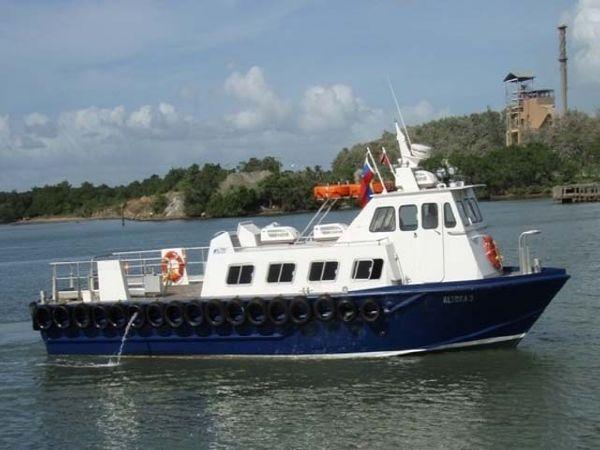 49.2' x 13.8' x 6.9' Aluminum Crew Boat /Built in Trinidad