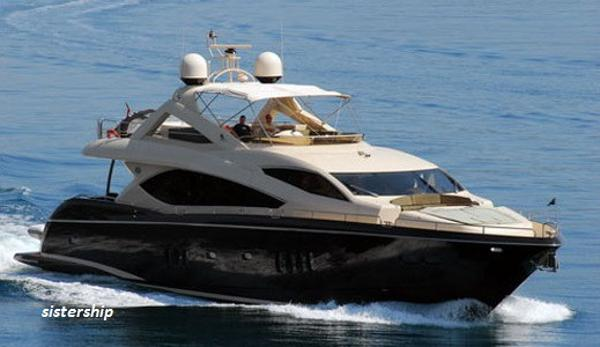 Sunseeker 86 Yacht Sailing Sunseeker 86