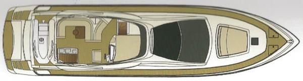 Riva 75 Venere flybridge layout