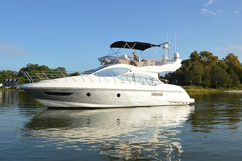 Azimut 45 fly 2013 Azimut 45 FLY, port beam