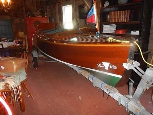 Chris White Antique Outboard Runabout