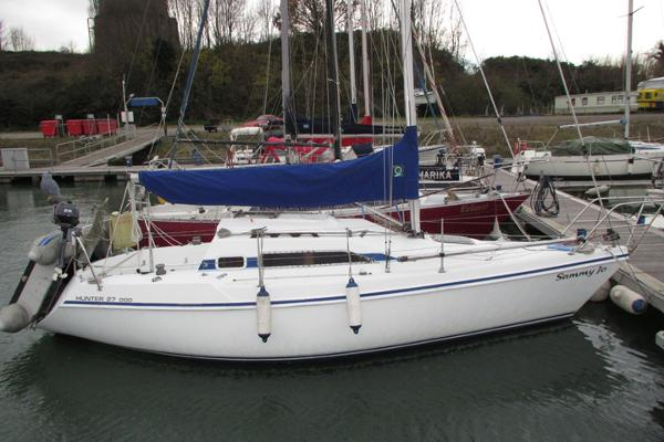 Hunter 27 OOD Afloat