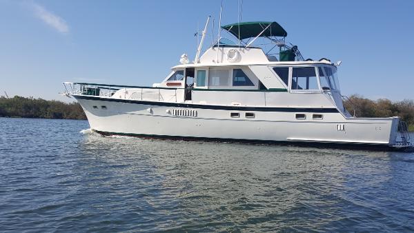 Hatteras 58 Yacht Fisherman