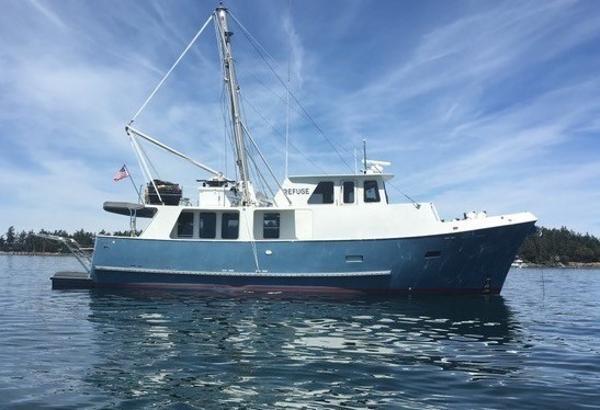 Waterline 53 Passagemaker Pilothouse