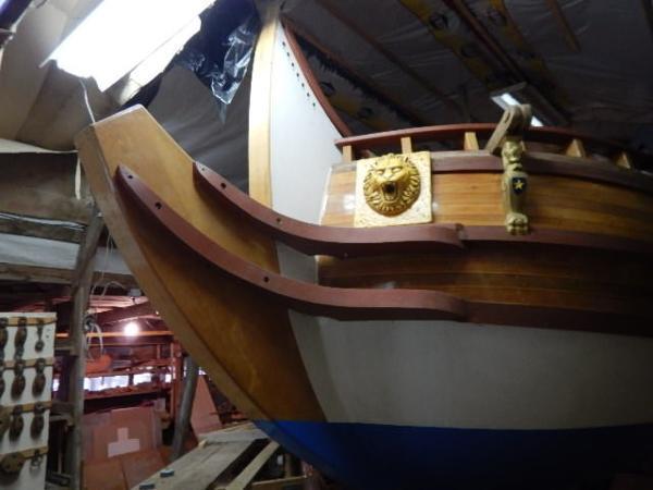 Custom Replica 17th Century Yacht