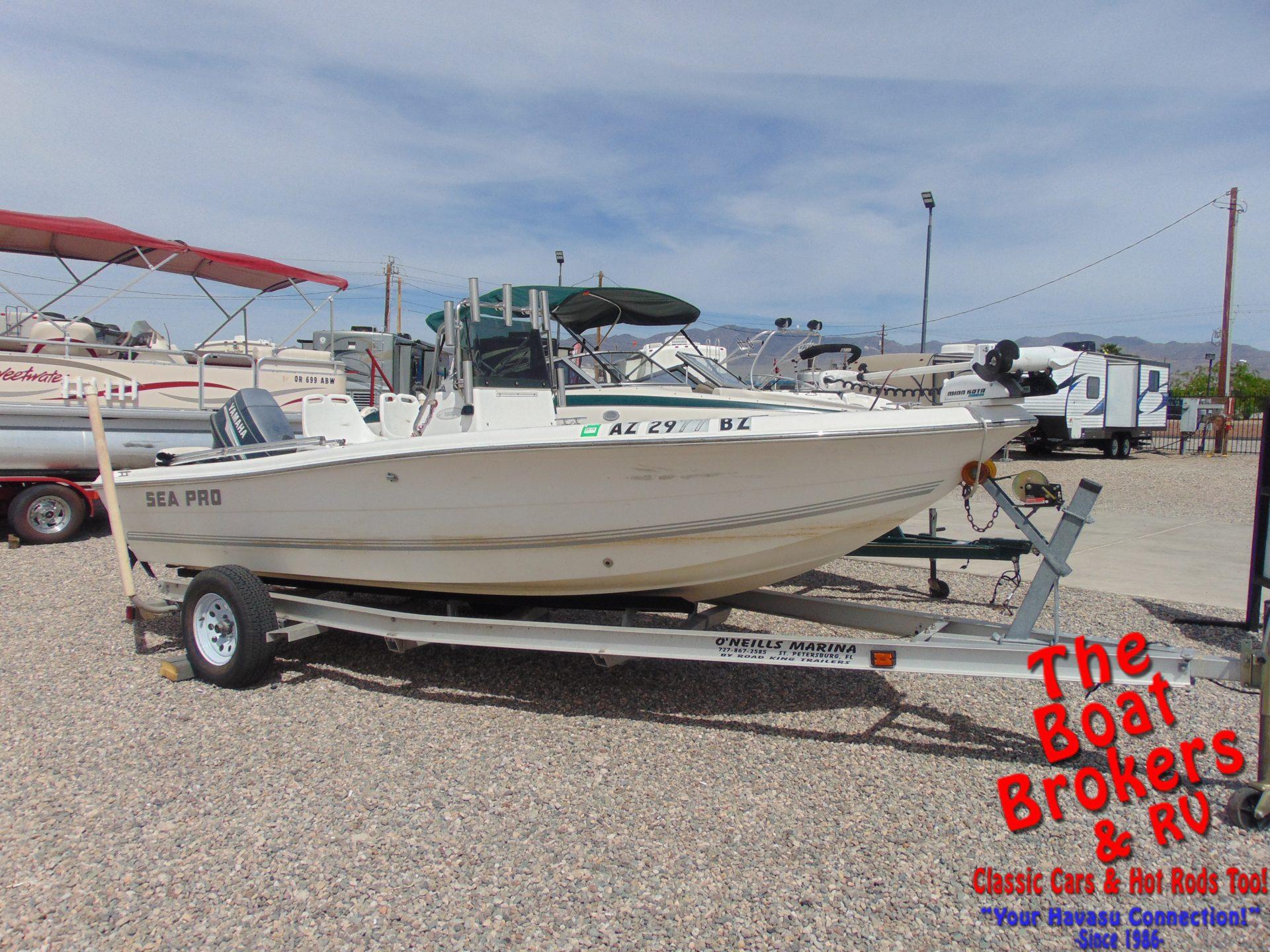Sea Pro 180 CC Center Console Fishing Boat