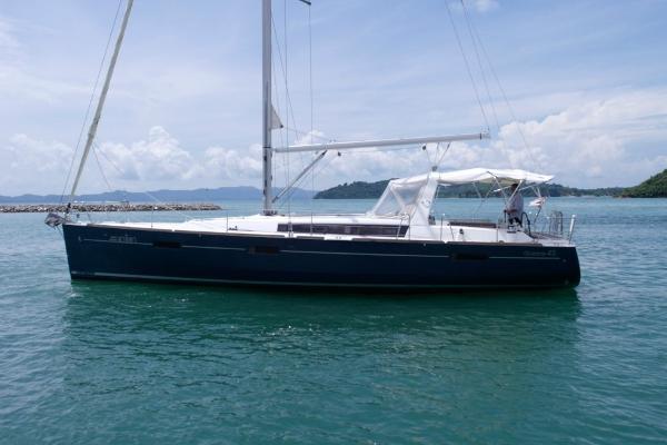 Beneteau Oceanis 45 Sailing Yacht Beneteau Oceanis 45 - Profile