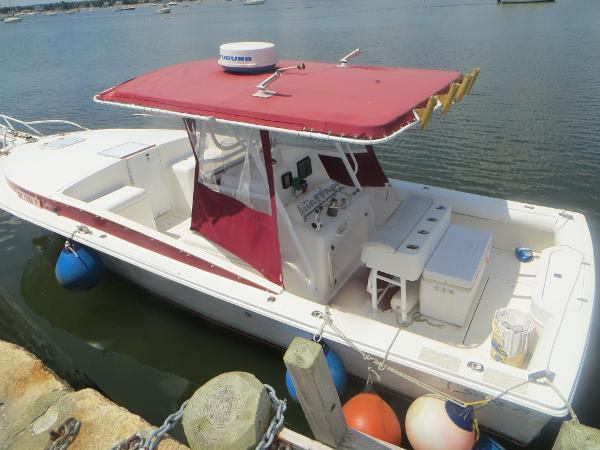 Strike 29 FT Center console with cuddy