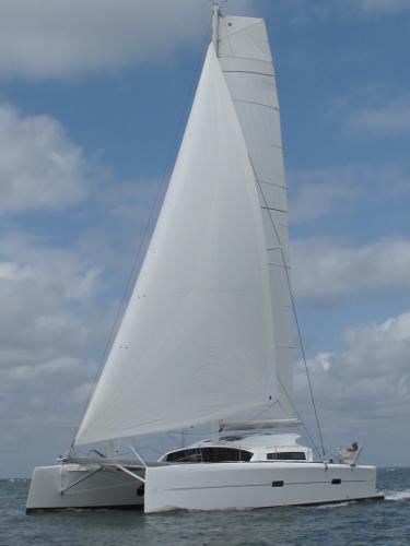 Marsaudon Composites TS 42 A la voile / Sailing