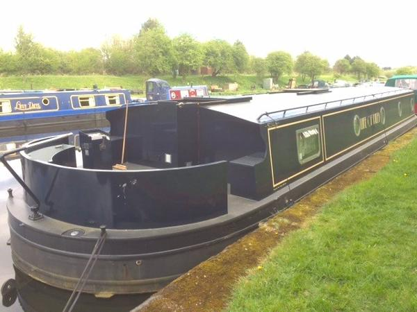 Burscough Boats Wide Beam Barge 58x13