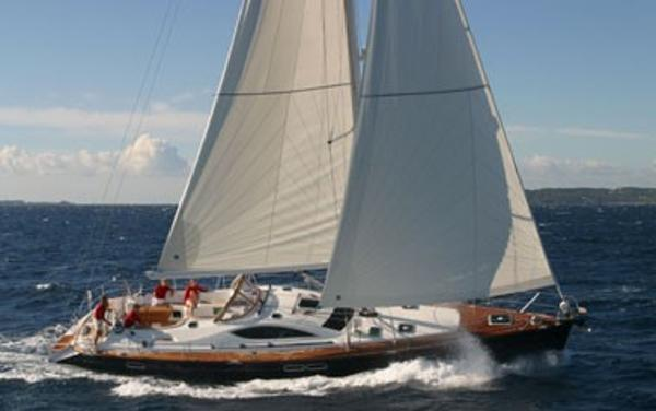 Jeanneau DS 54 Under Sail