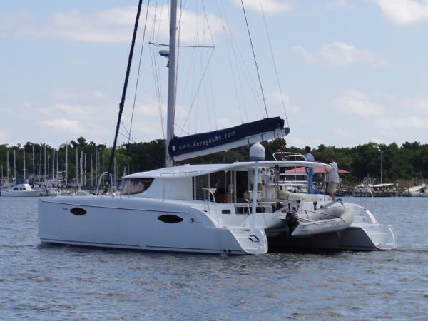 Fountaine Pajot Orana 44 Stern Quarter