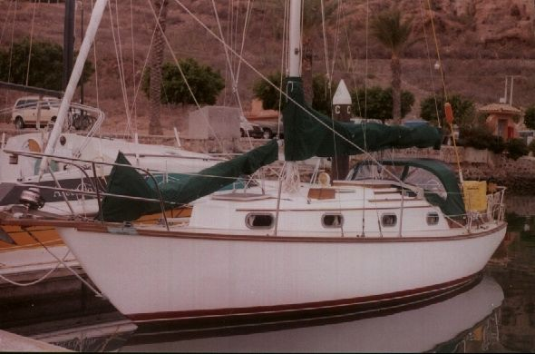 Cape Dory 30 At the Dock