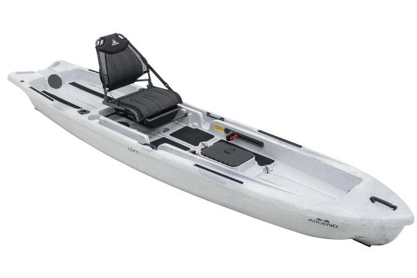 Ascend 128X Yak-Power Sit-On - White/Black