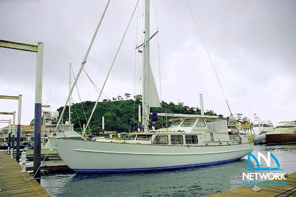 Sparkman And Stephens Custom 60ft Motor Sailor