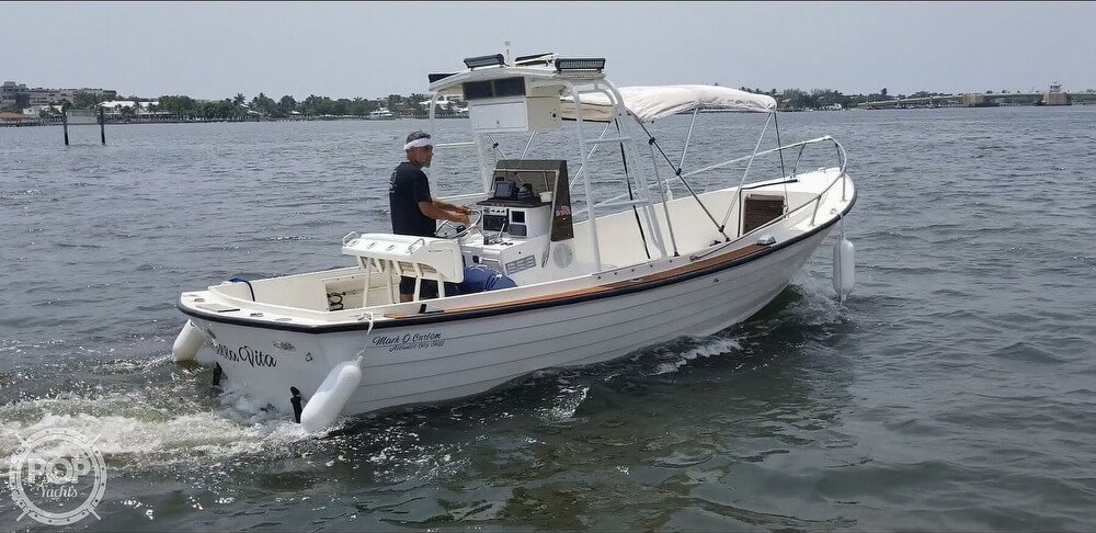 MARK O CUSTOM BOATS Atlantic City Skiff 1985 Mark O Custom 23 for sale in Lantana, FL