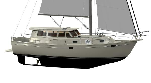 Island Packet 42 Motor Sailer Manufacturer Provided Image